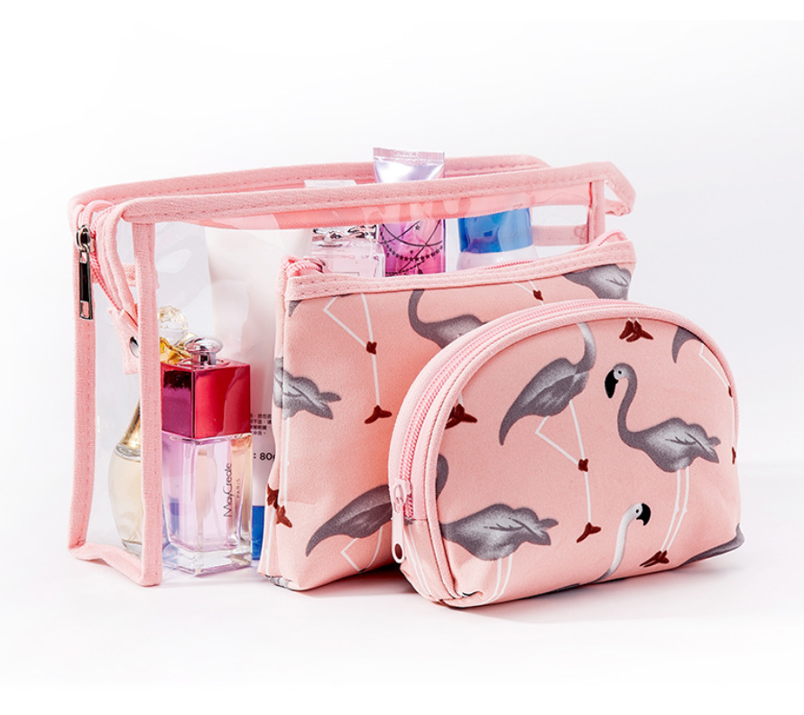 Fashion Brand 3pcs/set  Cosmetic Bags