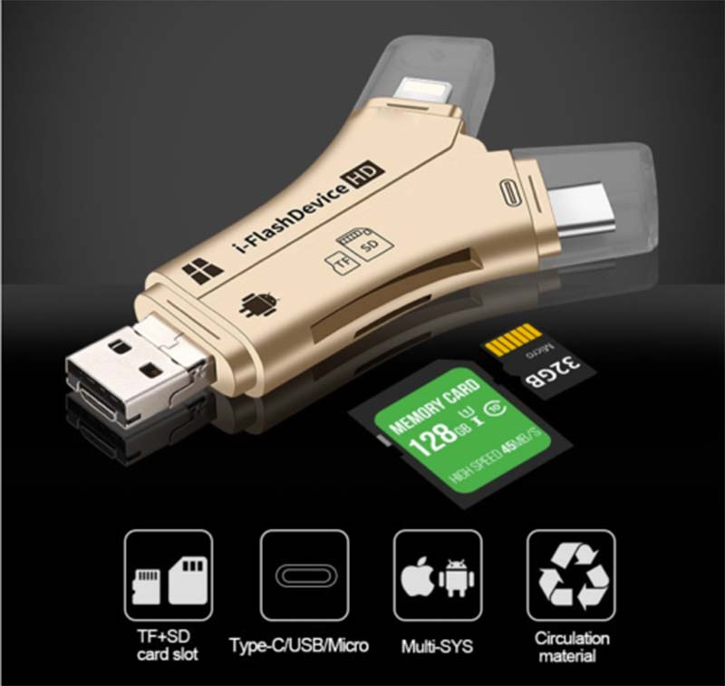🍀Early Spring Hot Sale 51% OFF🍀 - 4-in-1 Media Transfer(Buy 2 Free Shipping)