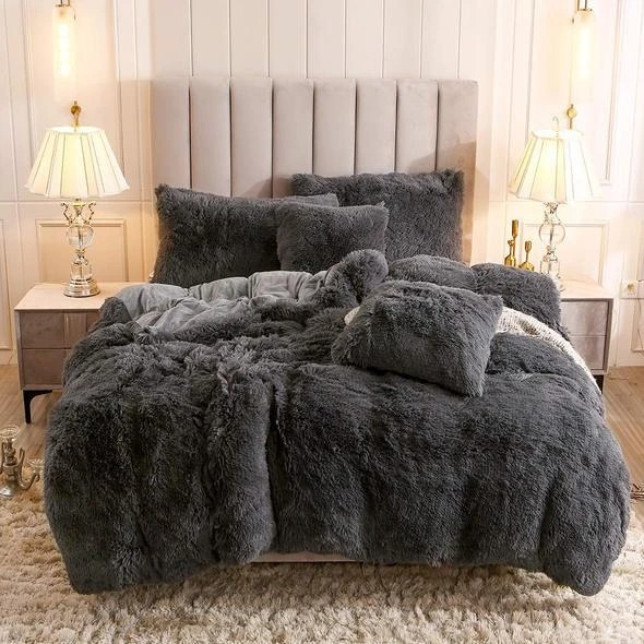 (🎅EARLY XMAS SALE - 50% OFF) Fluffy Blanket With Pillow Cover - Free Shipping Today