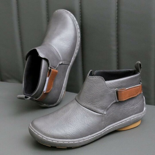 🔥Only $19.99🔥Casual Comfy Daily Adjustable Soft Leather Booties 💥Buy 2 Save $10 More💥+50 Pairs Free Gloves