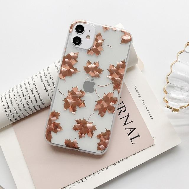 Electroplated Leaf Case