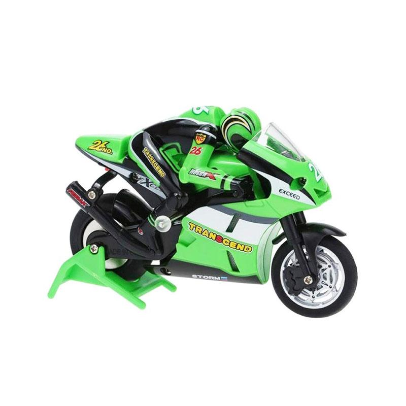 Mini Jumping Remote Control Motorcycle With Charging Gyroscope