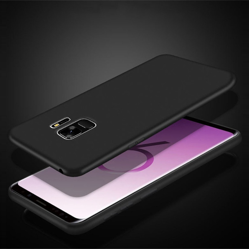 Solid Color Silicone Cover Case For Samsung NOTE 5 S8 S9 S10 S10E 5G A6 A7 A8 A9 A9S A30 A50 A10 A40 A70 A20E A20 A60 A40S A10E A80 A2 Core Plus 2018 A750 Star Note 8 9 10 C9 Pro M10 M20 M30 M40 Matte Plain Flexible Colorful TPU phone case