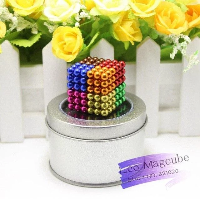 Multicolored Building Balls:Brain Game Stress Relief Gift