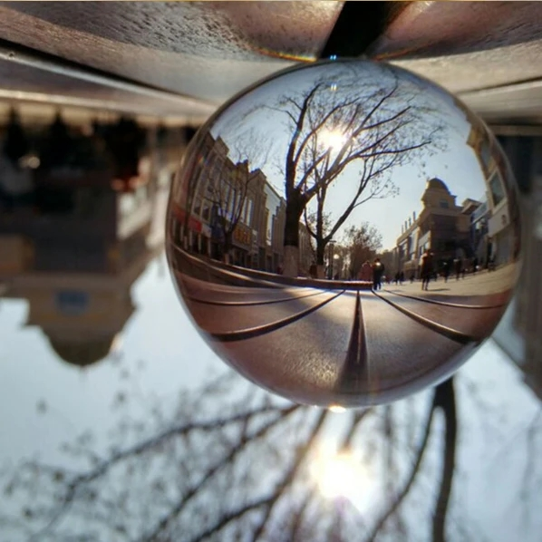 Arosetop Clear Crystal Ball Photography Lens Glass Balls - Ship from US