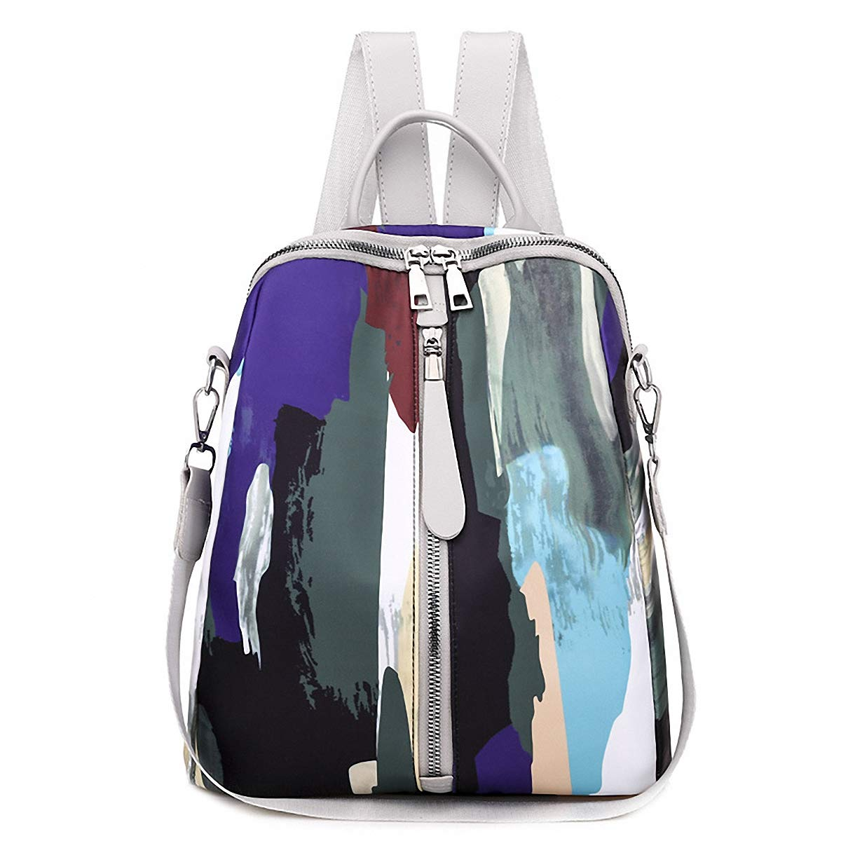 (Buy 1 Get 2 Only19.99)GuaziV Backpack Purse for Women Nylon Anti-theft Waterproof Fashion Bag Lightweight School Shoulder Bags