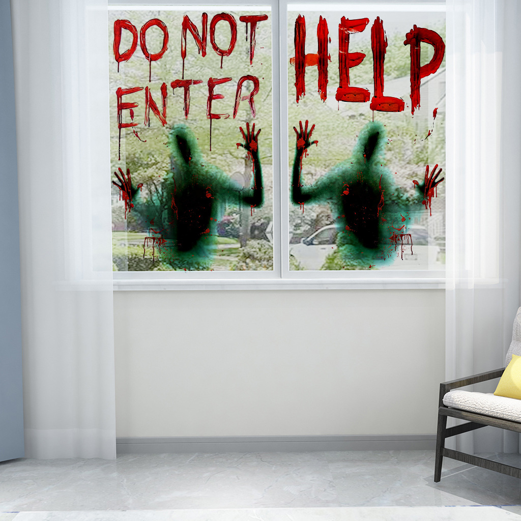 THE GHOST HANDS WINDOW AND WALL STICKER