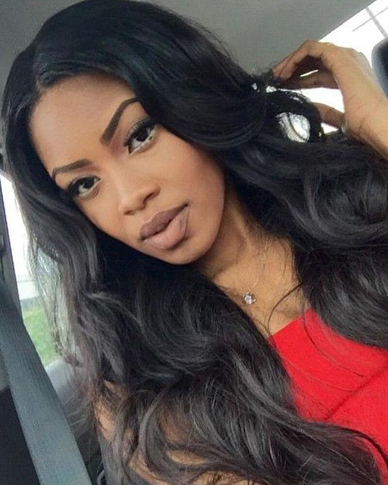 Black Wigs For Black Women Boho Blow Dry African Braids Wigs Loose Curls With Wand Short Hair Brazilian Wave Wig