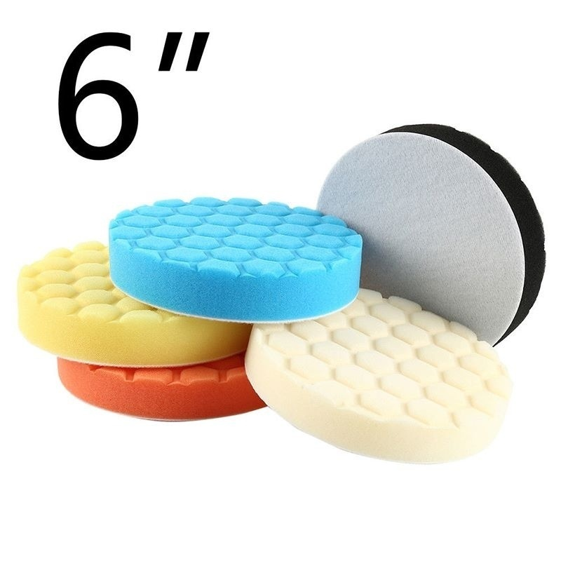 5Pcs 6 Inch 150mm Indentation Waxing Sponge Cover