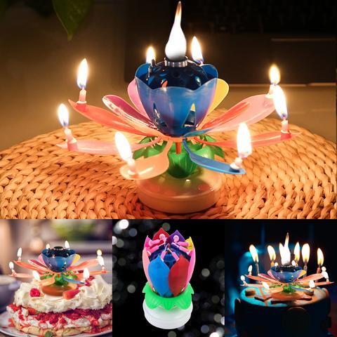 🎉Winter Sale 30% OFF - Magic Flower Birthday Candle