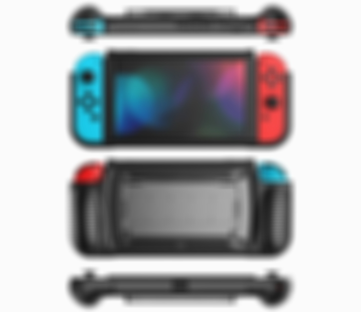Arosetop  (55% OFF) Multi-function Protective Grip Case For Nintendo Switch