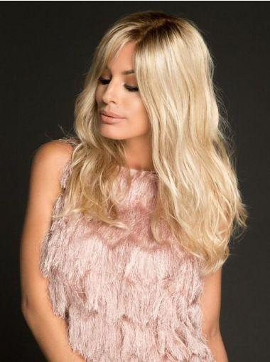 2020 Fashion Ombre Blonde Wigs Blond Brown