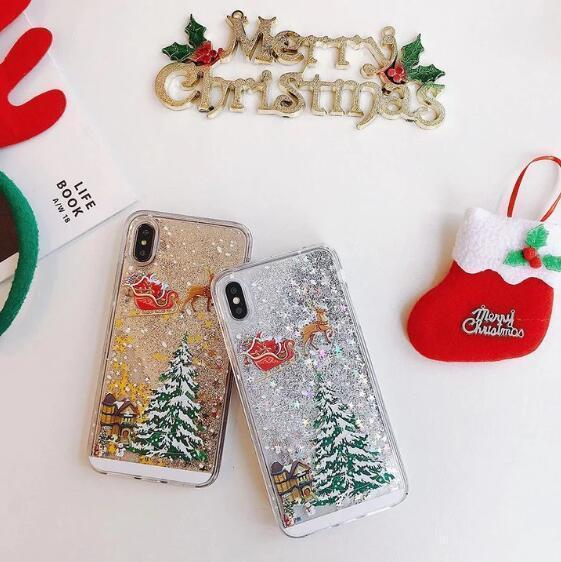 Christmas Glitters Mobile iPhone Case