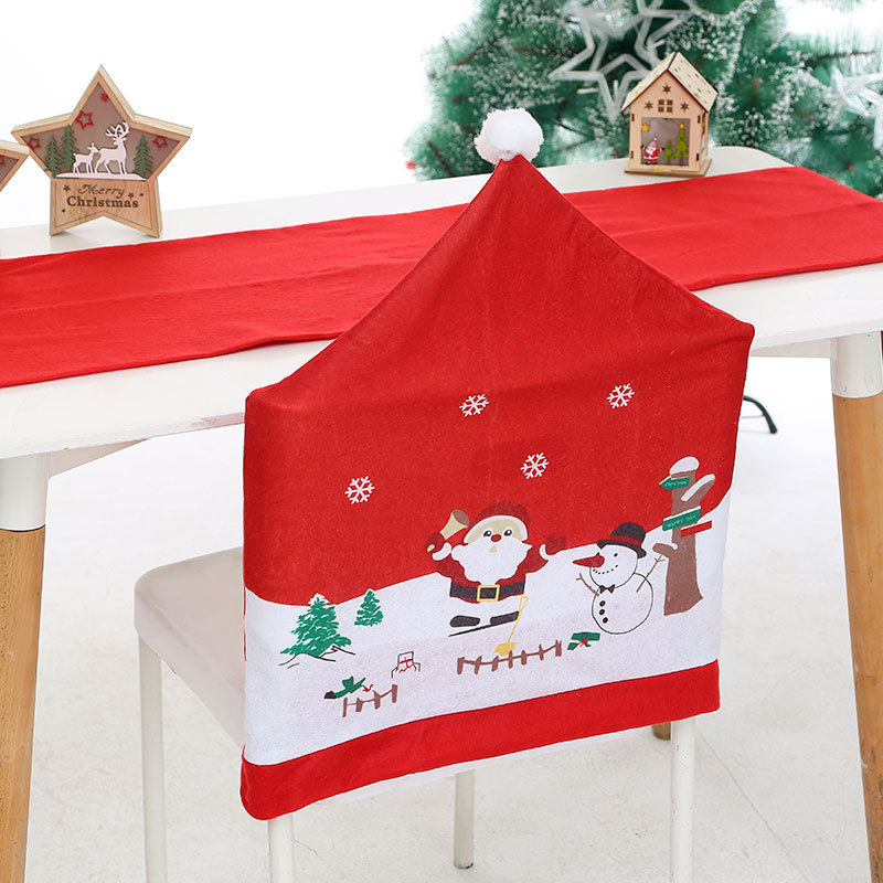 Christmas 2020 New Christmas Decoration New Santa Claus Chair Cover🔥