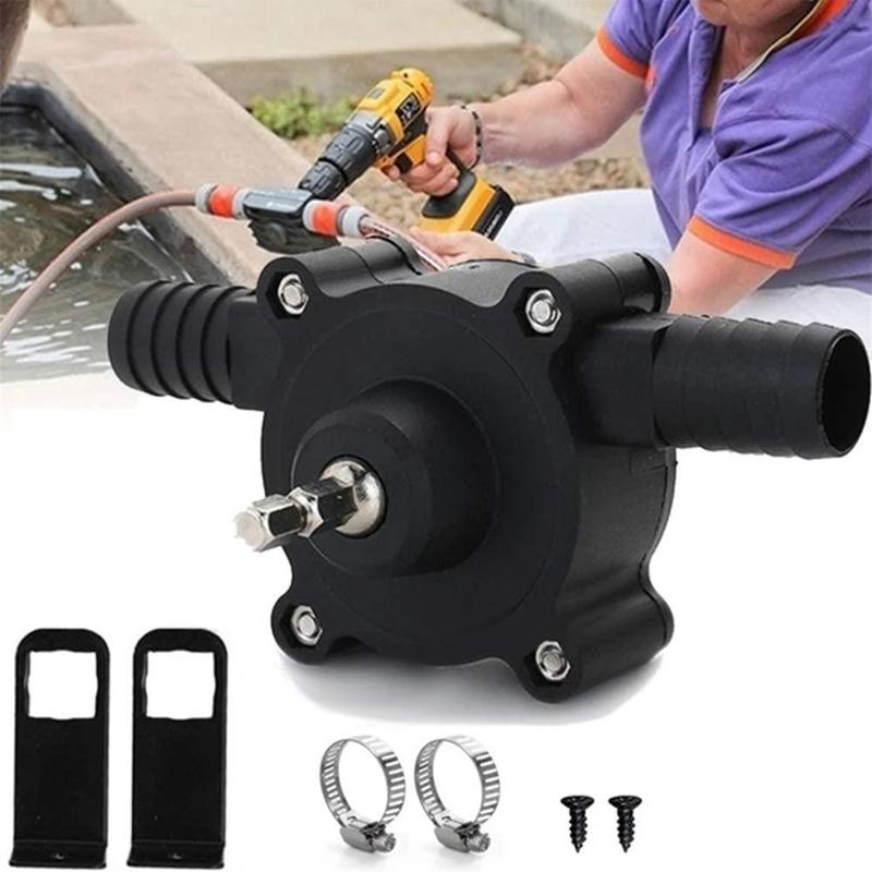 Higomore™ Hand Electric Drill Drive Self Priming Water Transfer Pump