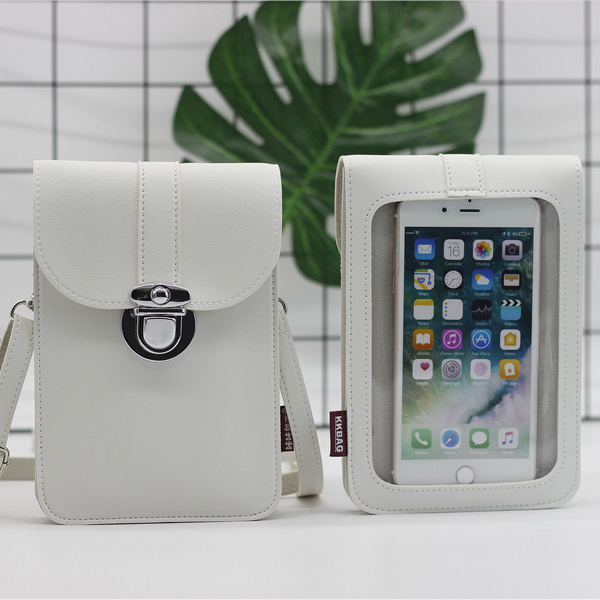 【Buy 1 Get 1 Free】Touchable PU Leather Change Bag