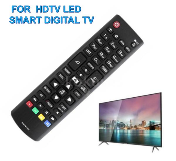 Universal TV Remote Control Wireless Smart Controller Replacement for L-G HDTV LED Smart Digital TV Black