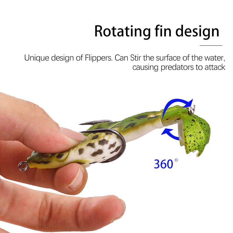 Last Day Promotion 50% OFF-Double Propeller Frog Lures