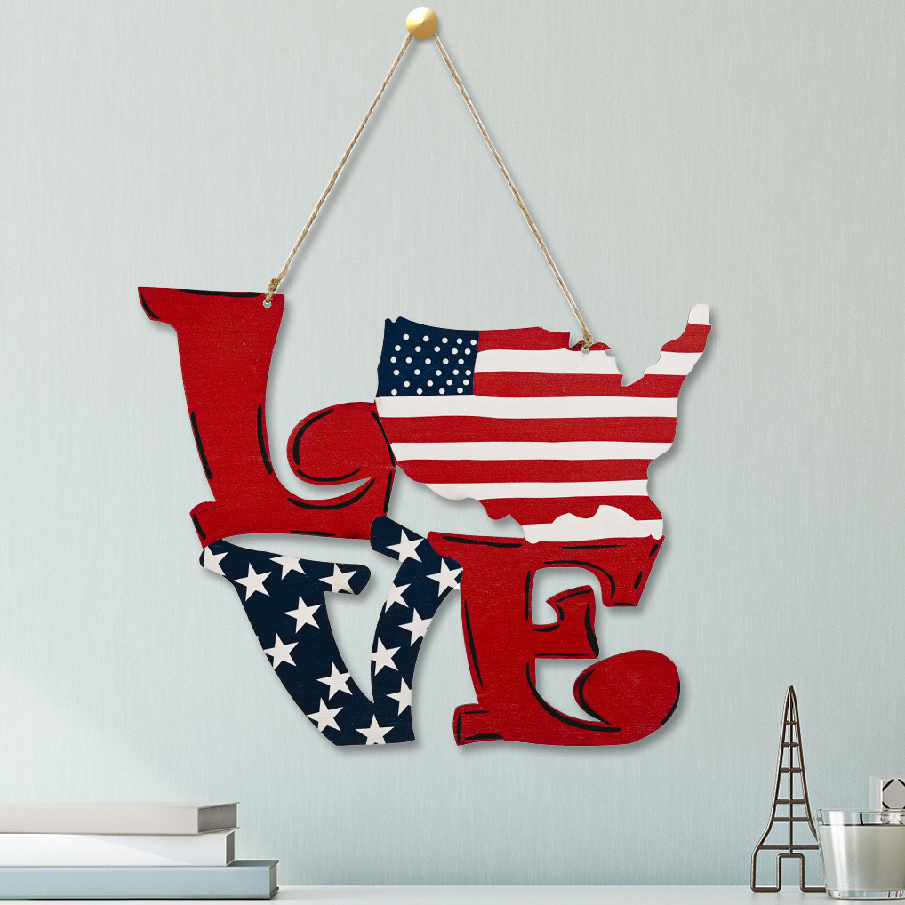 AMERICAN INDEPENDENCE DAY-Flag pendant