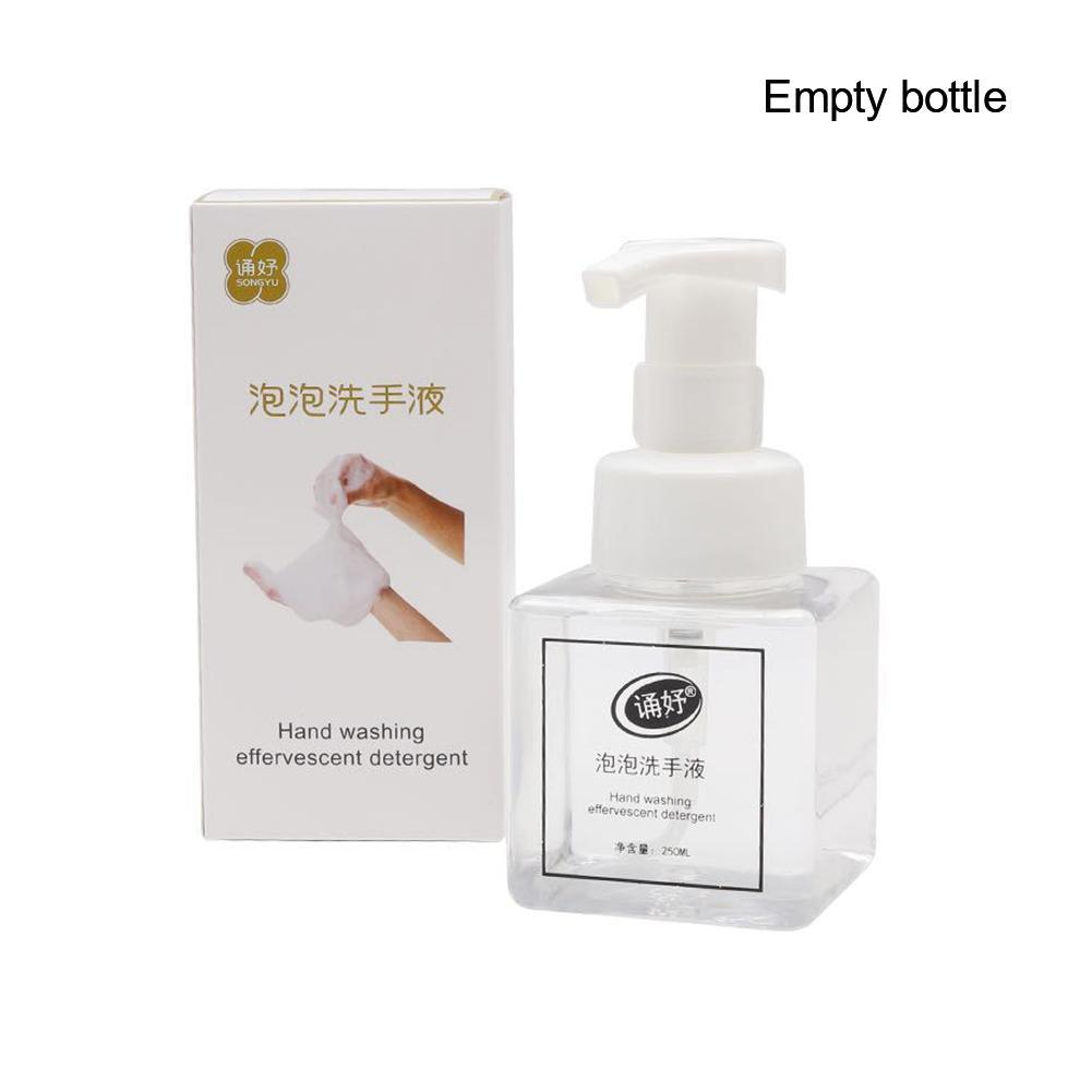 Effervescent Tablets Hand Sanitizer Foam Type Super Clean Power Strong Disinfect Kill Bacterial Disinfection Clean Hand Soap 250ML