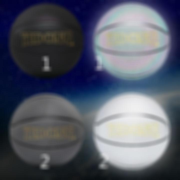 【Free Shipping】Holographic Glowing Reflective Basketball