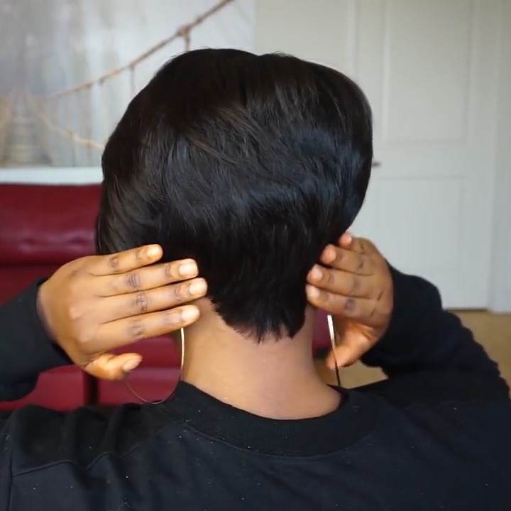 Lace Frontal Tapered Bob Wig