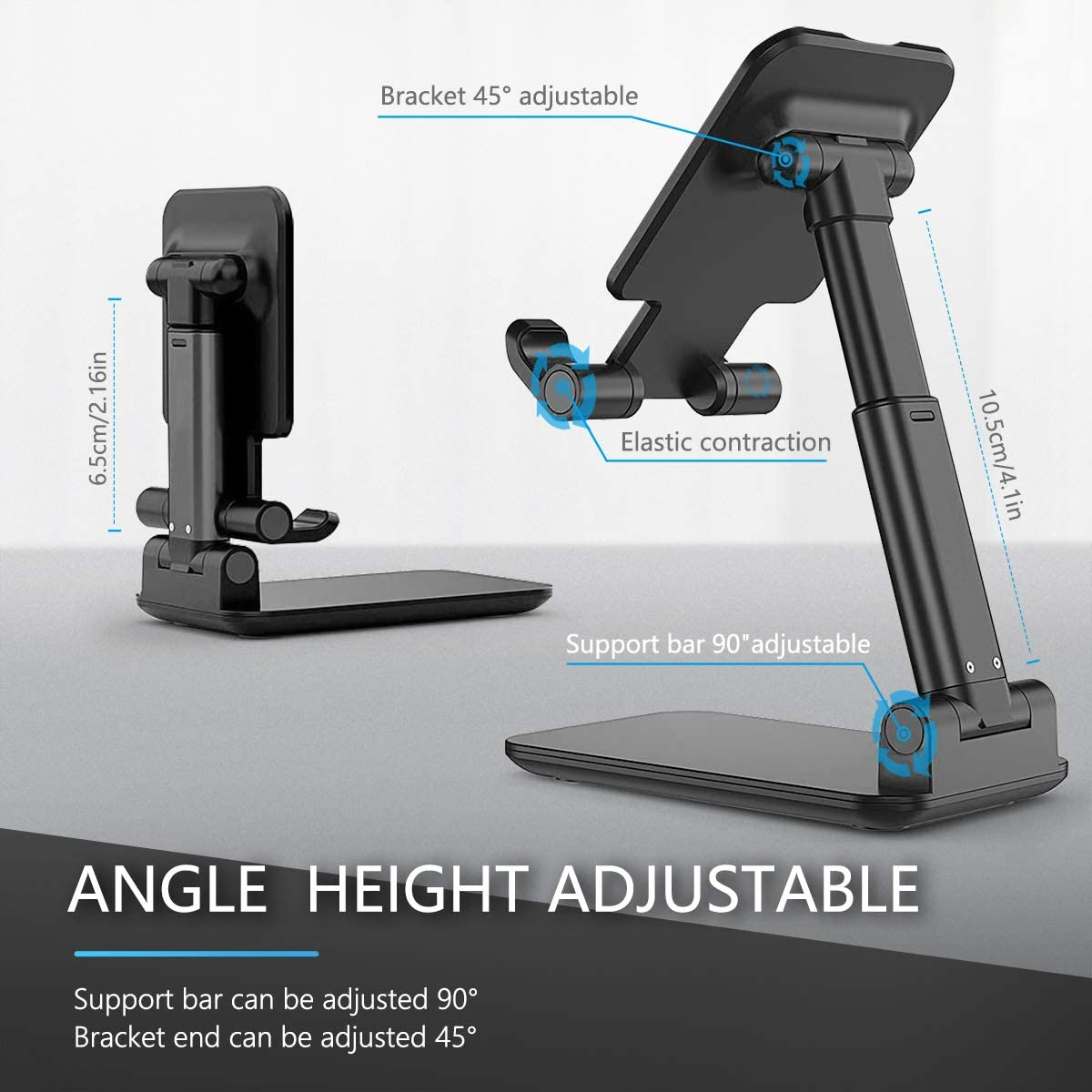 Buy two 10% discount,Adjustable Stable Cell Phone Stand Compatible with All Mobile Phone