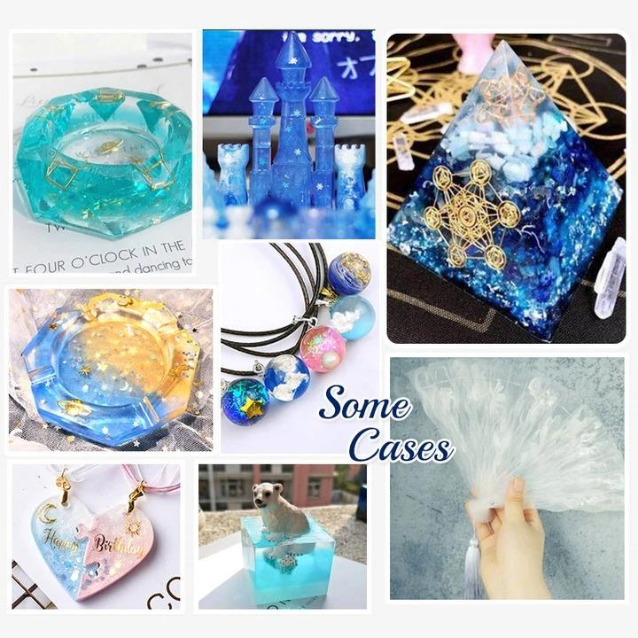 DIY Crystal Glue Jewelry【Summer Sale 49% OFF Today】