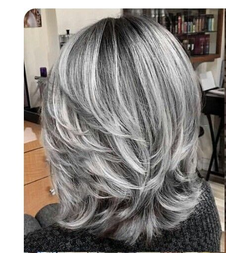 Gray Hair Wigs For African American Women Eyebrow Color For Gray Hair Grey Lace Front Wig Human Hair Grey Lace Front Human Hair Wigs Silver Grey Highlights Yaki Straight Wig