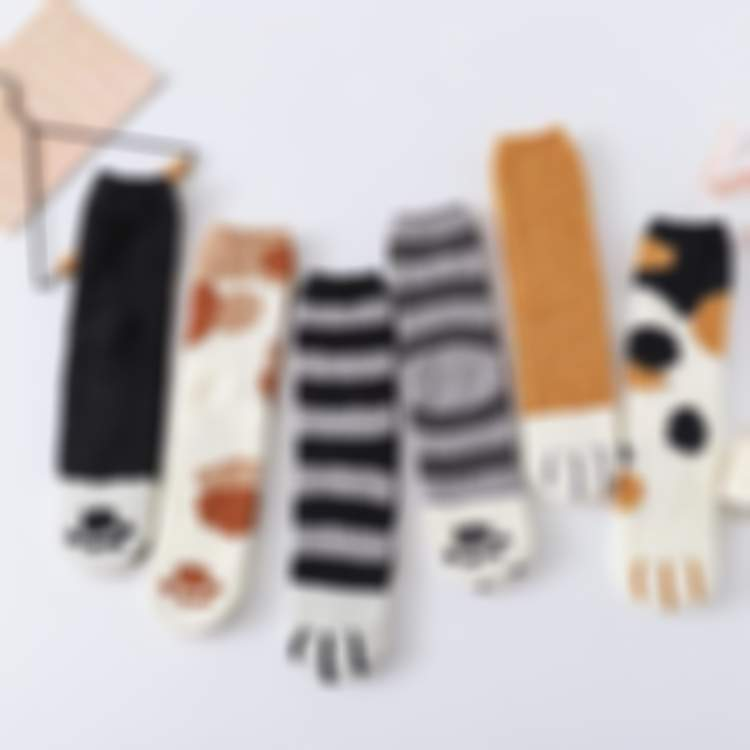 Winter Thick Cat Claws Warm Socks- Buy More Save More