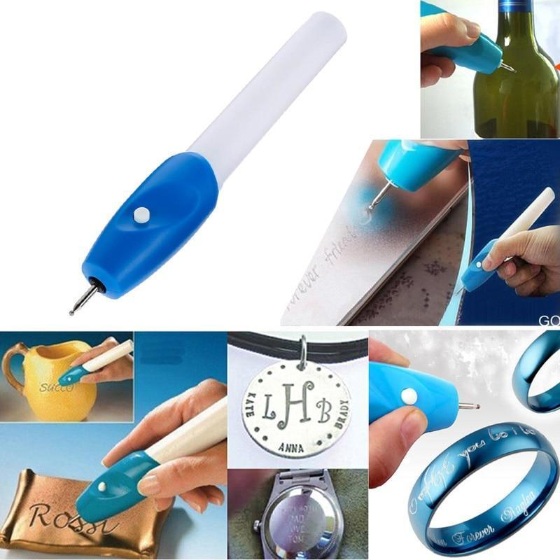 7 inch Portable Battery Powered Electric Engraving Pen