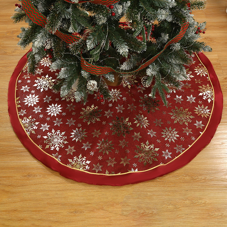 48 Inch Retro Christmas Tree Skirt Colour