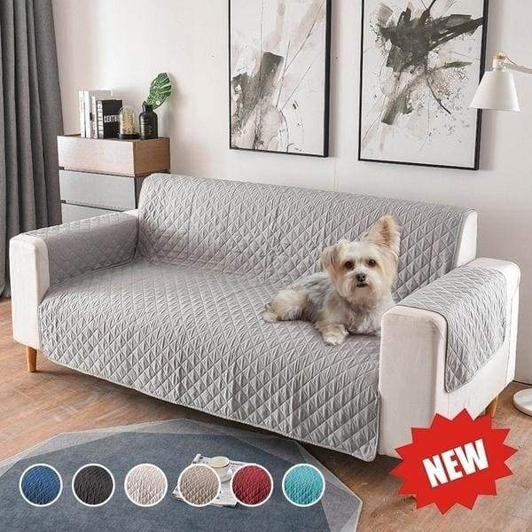 2019 New Fashion 1/2/3 Seater Removable Sofa Cover for Dogs Pets Kids Living Room Furniture Couch Slipcover Armchair Sofa Cover Quilted Fabric.