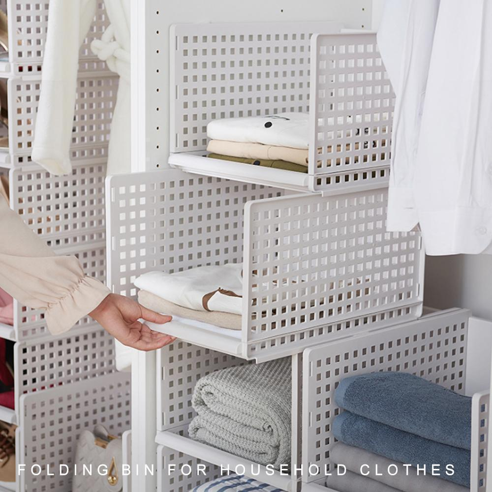 Folding Bin For Household Clothes