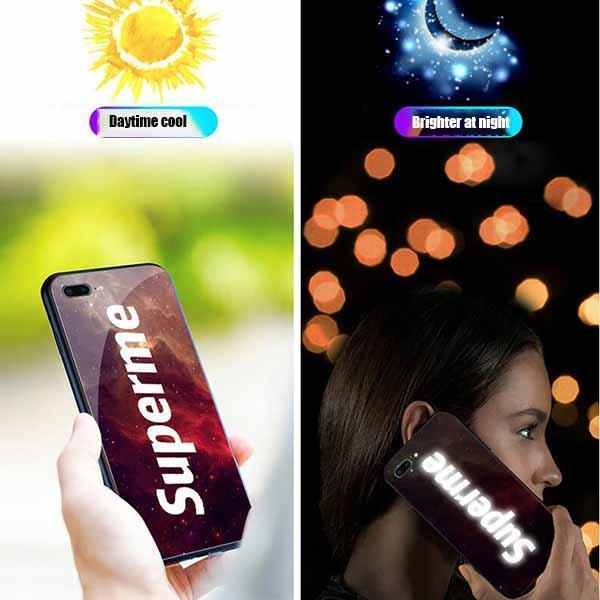 Smart Voice-Activated Illuminated Mobile Phone Case