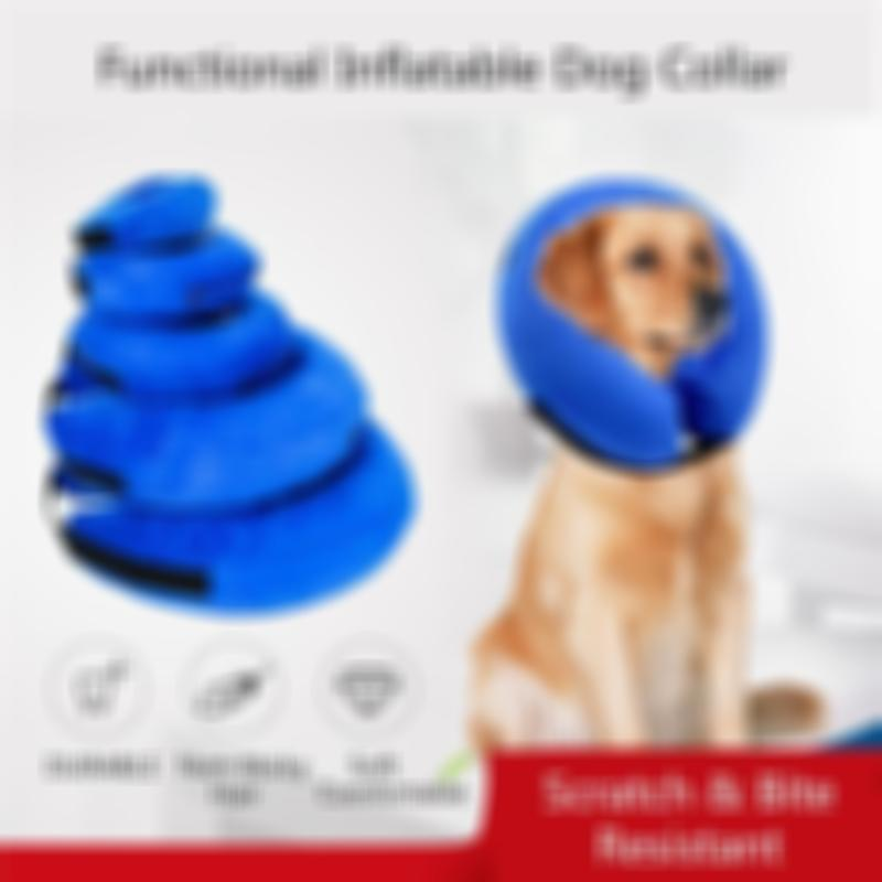 🔥Summer Promotion🔥-PROTECTIVE INFLATABLE PET COLLAR