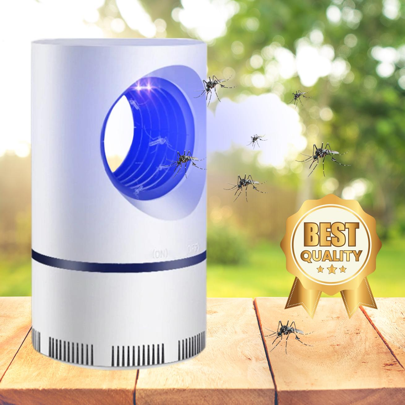 MOSQUITO AND FLIES KILLER TRAP SUCTION FAN, NO ZAPPER, CHILD SAFE