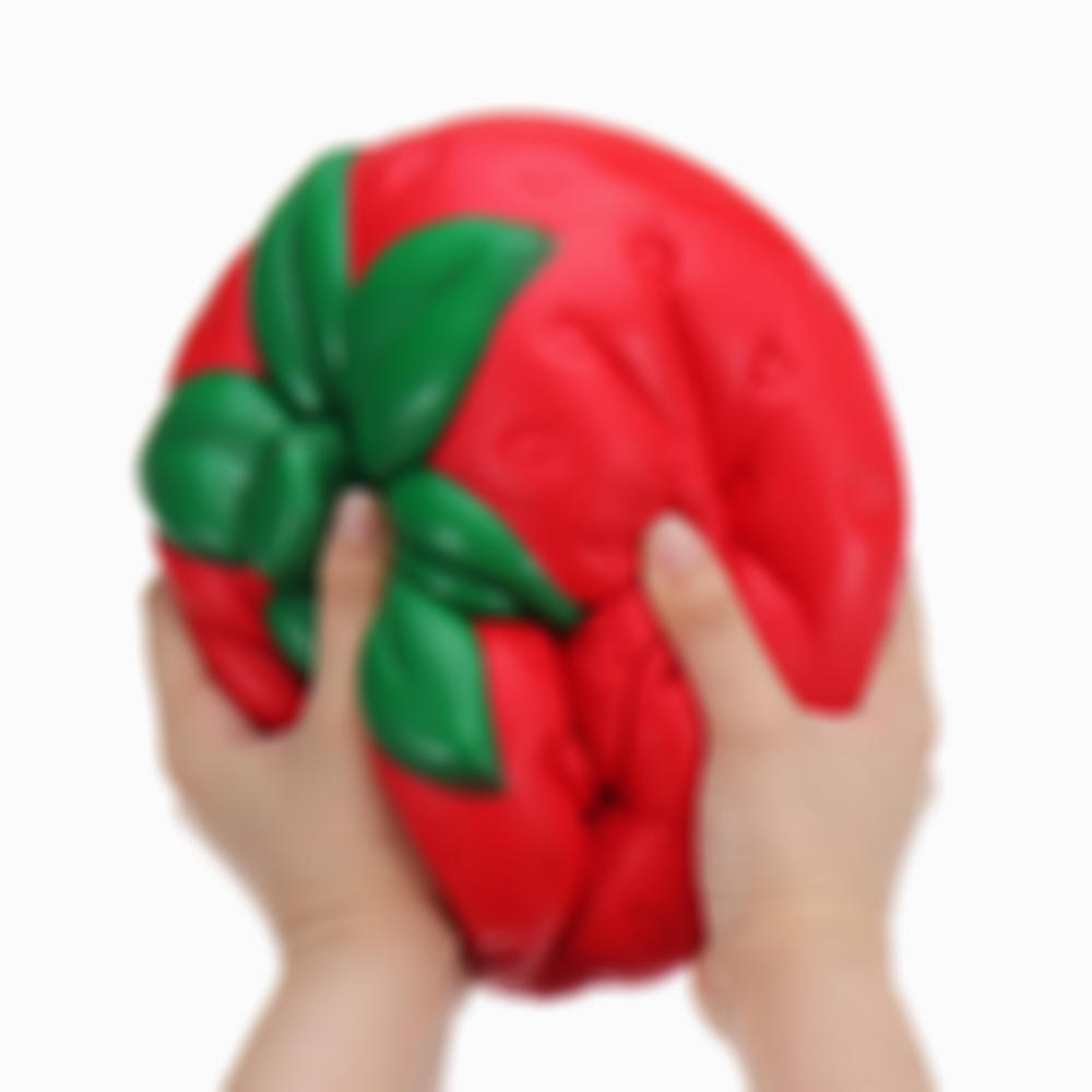 Huge Strawberry 25*20CM Fruit Slow Rising Soft Giant Toy Gift Collection With Packag