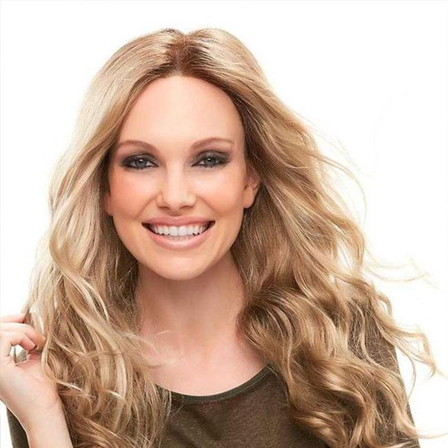 KAMI 056 Wavy Long Wig Sassy Middle Length Curly Synthetic Wigs for Women