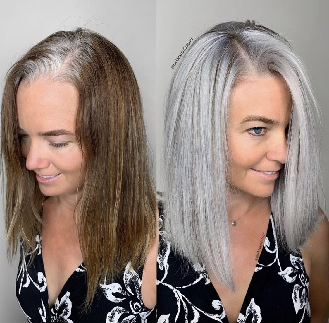 2020 New Gray Hair Wigs For African American Women Curly Full Lace Wig Grey Straight Wig Grey Hair Turning Black Grey Hair Solutions 1940S Wig