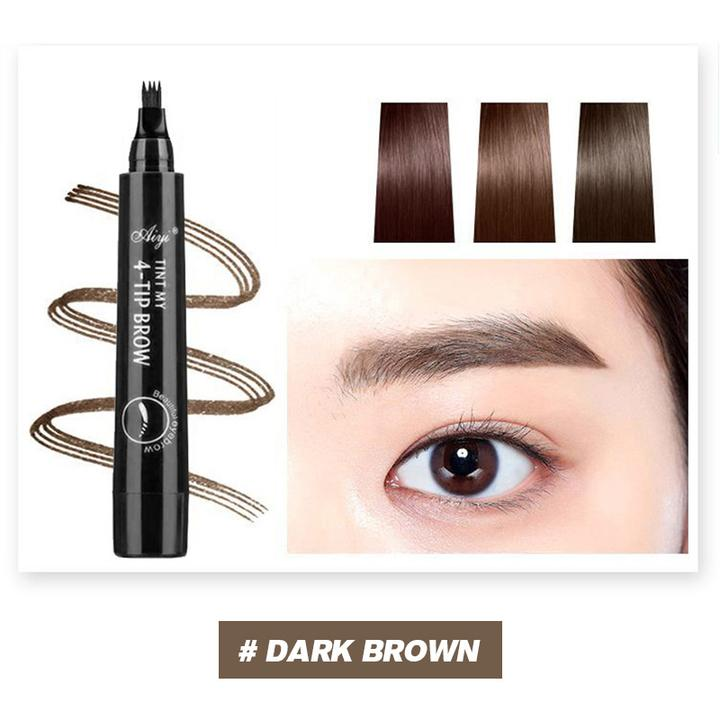 (Last Day Promotion & 30% OFF) 4 Points Eyebrown Pen - Buy More Save More