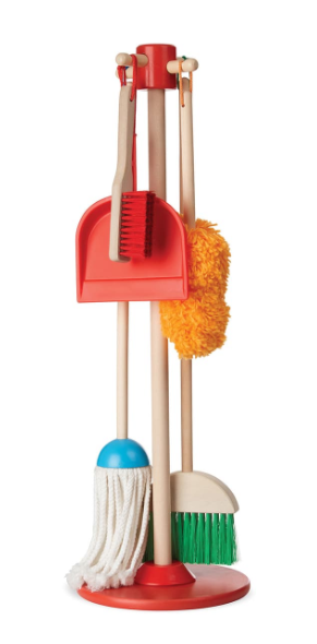 Dust, Sweep & Mop Toy Set