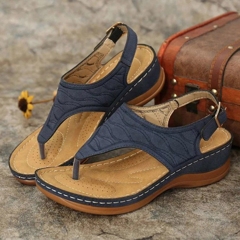 Ladies' hollow out hand-embroidered sandals-BUY 2 GET 10% OFF & FREE SHIPPING