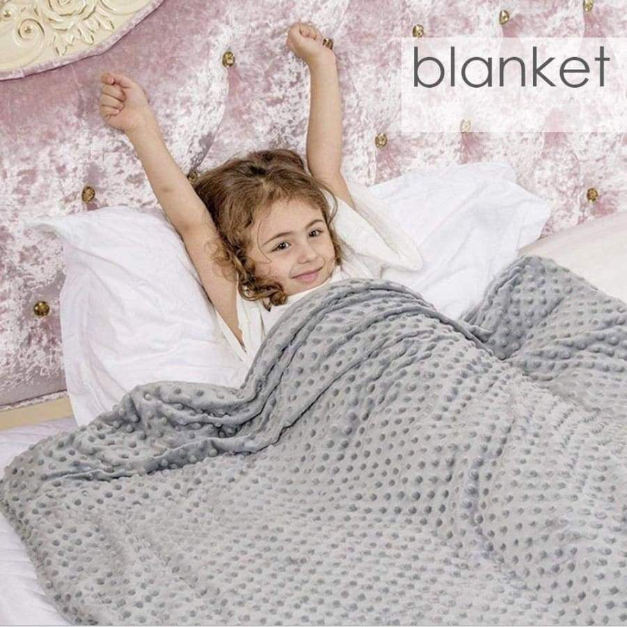 2019 Newest Weighted Blanket Which Can Decompress Help Sleep and Relieve Anxiety