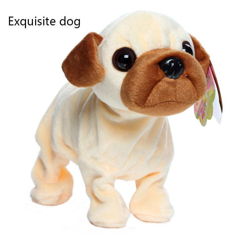 Intelligent voice-controlled electric toy dog