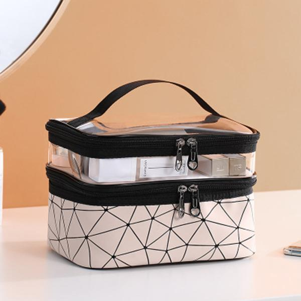 Transparent Geometry Storage Bag