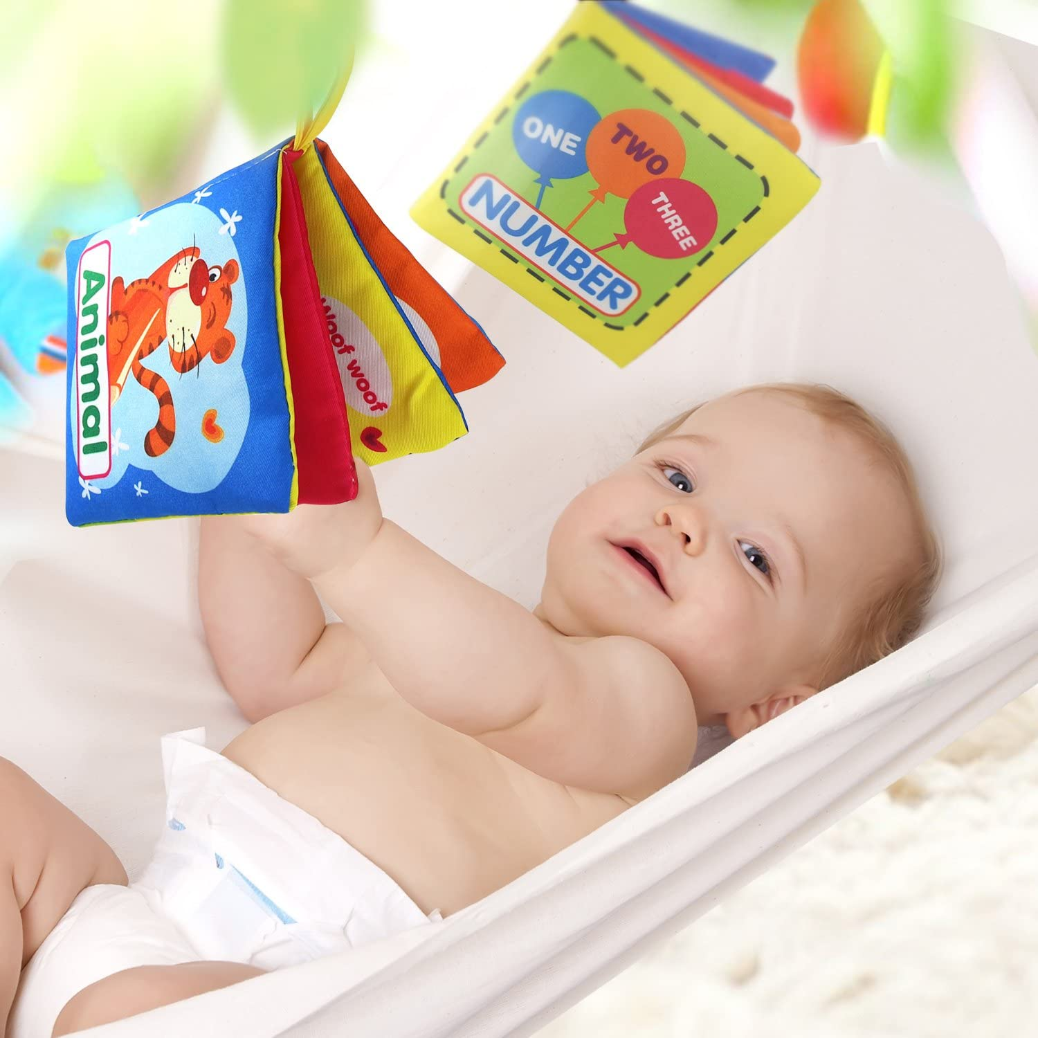 $10 off Buy 3,$30 off Buy 6 Fun with Colors Soft Baby Book