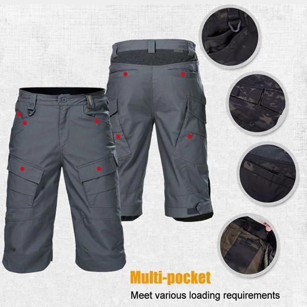 2020 Upgraded Men's Tactical Waterproof Shorts