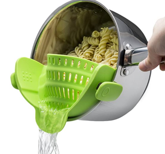 (🎄Early-Christmas Flash Sale🎄-48% OFF)Clip On Silicone Colander(Buy 3 get 1 free+FREE shipping)