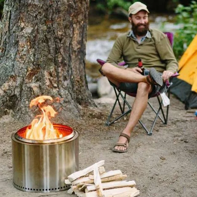 💥50% OFF💥Large stainless steel outdoor smokeless stove(Buy 2 Free Shipping)